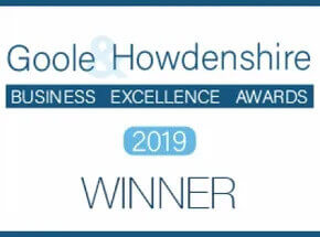 Goole & Howdenshire Business Excellence Awards 2019 winner